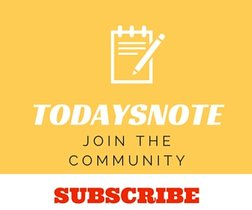 subscribe to the todaysnote community
